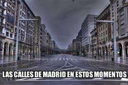 Enlace a Así están las calles de Madrid en estos momentos