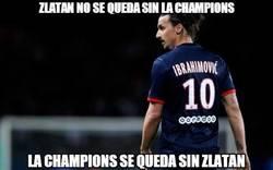 Enlace a Zlatan no se queda sin la Champions
