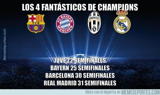 519632 - Los 4 Fantásticos de la Champions