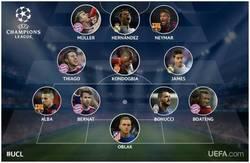 Enlace a Y éste es el equipo de la semana de la UEFA Champions League