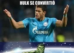Enlace a Hulk en su máxima expresión contra el Sevilla
