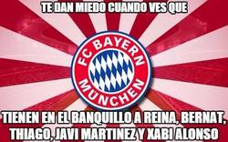 Enlace a Vaya banquillo del Bayern