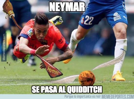 522184 - Neymar se pasa al Quidditch