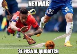 Enlace a Neymar se pasa al Quidditch