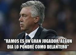 Enlace a Benzema, ten cuidado que hasta Ramos te puede quitar el puesto