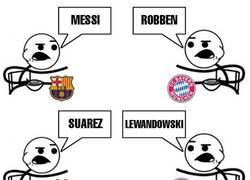 Enlace a Barça vs Bayern, todo muy igualado por aquí