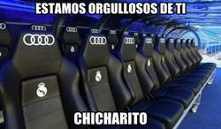 Enlace a Llegan más felicitaciones por el gol de Chicharito