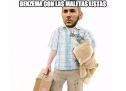 Enlace a Benzema buscando destino