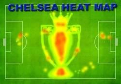 Enlace a El mapa de calor del Chelsea toda la temporada