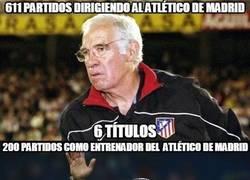 Enlace a Si se queda, el Cholo superará ampliamente a Luis Aragonés en el banquillo del Atleti