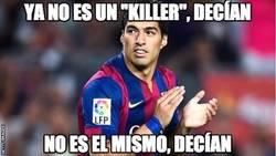Enlace a Suárez callando bocas