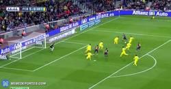 Enlace a GIF: El 6º del Barça, obra de Messi