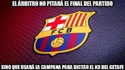 Enlace a Así terminará el Barça-Getafe