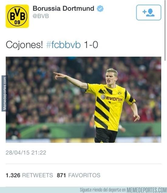 526233 - Sabes que el BVB es un club especial cuando escriben tuits así
