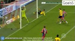 Enlace a GIF: Aubameyang empata el partido frente al Bayern. Se van a la prórroga