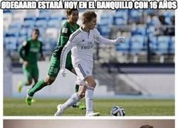 Enlace a Ødegaard estará en el banquillo ontra el Almería a sus 16 años de edad