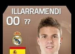 Enlace a Actualización de la carta de Illarra en el FIFA tras su partido con el Almería