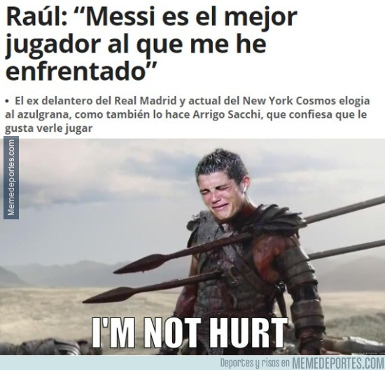 529505 - Cristiano tras las declaraciones de Raúl