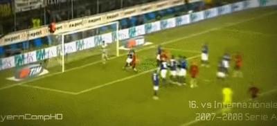 529570 - Top 10 de goles de falta de el artista del fútbol, Andrea Pirlo