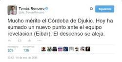 Enlace a Momento exacto en el que el Córdoba se iba a Segunda