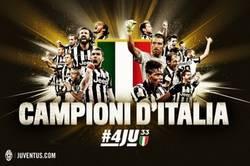 Enlace a Juventus Campeón de Italia por 4ª vez consecutiva ¡FELICIDADES!