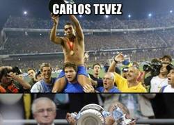 Enlace a Tévez, campeón donde juegue