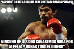 Enlace a Pacquiao no puede tener haters