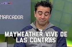 Enlace a ¿Qué opina Xavi de la pelea?