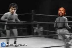 Enlace a GIF: El mejor resumen de la pelea de Mayweather