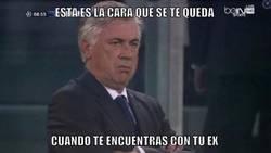 Enlace a Ancelotti viendo a Morata