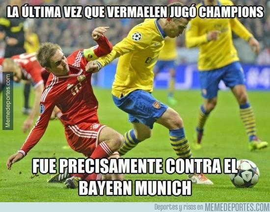 536919 - Vermaelen no tiene buenos recuerdos contra el Bayern