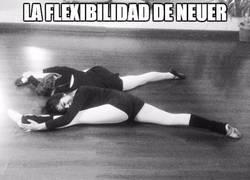 Enlace a La flexibilidad de Neuer