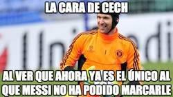 Enlace a Cech, el último superviviente de Messi