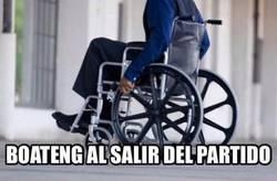 Enlace a Imágenes de Boateng abandonando el Camp Nou