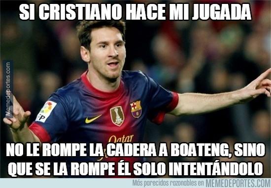 538237 - Messi opinando sobre su jugada