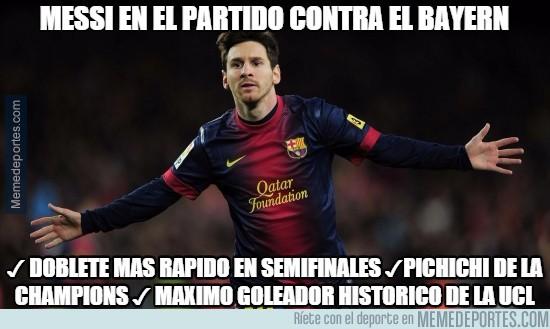 538450 - Messi en el partido contra el Bayern
