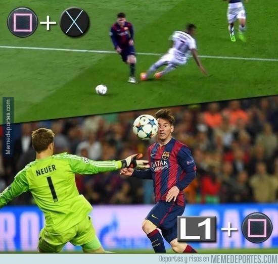 539360 - Te enseñamos a ser Messi en dos pasos en el PRO