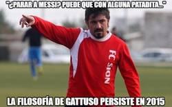 Enlace a Gattuso sigue con la mentalidad que tenía cuando era jugador