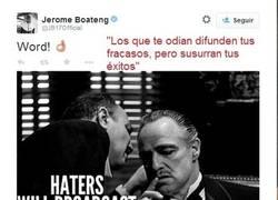 Enlace a Boateng se defiende de tanto Meme usando El Padrino