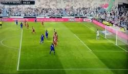 Enlace a GIF: Así ha sido el gol de Pogba después de volver de la lesión y a la titularidad