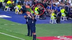 Enlace a Lo único que han celebrado en el Bernabéu: 5 minutos de añadido