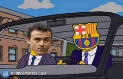 Enlace a GIF: El Madrid tratando de alcanzar al Barça