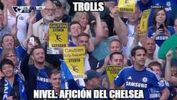 Enlace a La afición del Chelsea trollea a Gerrard