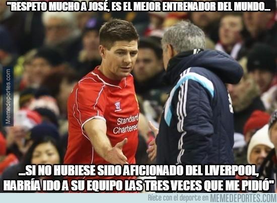 543548 - Bonitas palabras de Gerrard hacia Mourinho