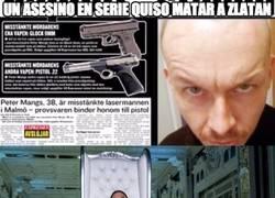 Enlace a Por poco nos matan a Zlatan