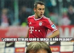 Enlace a Que alguien que le explique a Rafinha que ganar sólo la Bundesliga no es suficiente para este Bayern