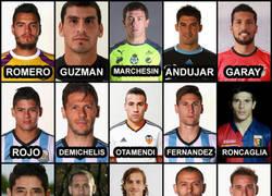 Enlace a Lista preliminar de Argentina para la Copa América. Anímate a descartar 7 jugadores