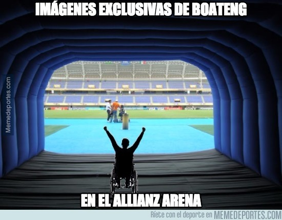 544746 - Boateng ya ha llegado al Allianz Arena
