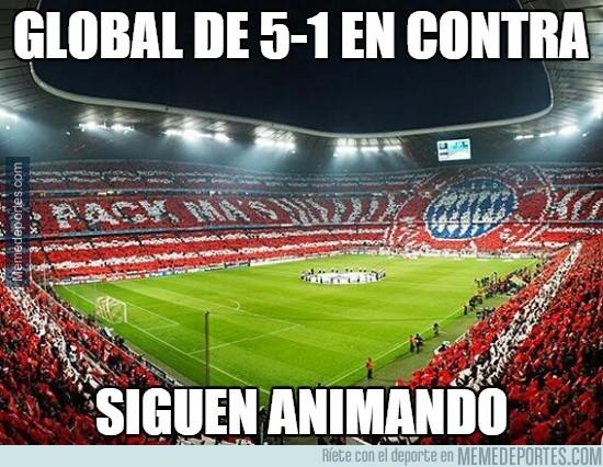 544915 - Gran ambiente en el Allianz Arena