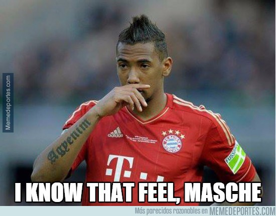 545309 - Boateng entiende a Mascherano en el gol de Lewandowski